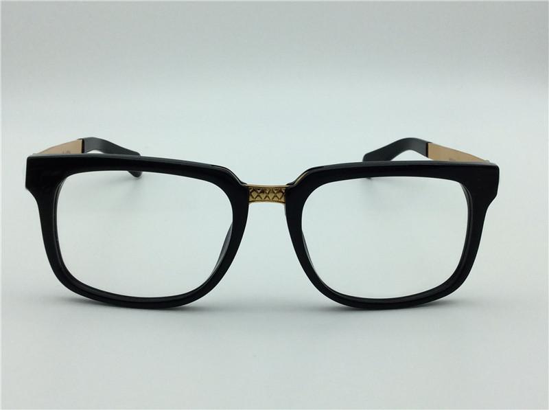 new medusa glasses prescription eyewear 5165 frame vintage eyeglasses men designer eyeglasses squrare frame face logo with original case
