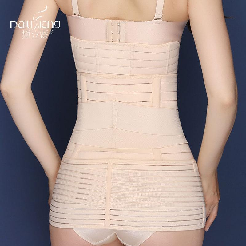 Postpartum Recovery Belt Abdomen+Stomach+Elastic pelvic Waist Cinchers Body Shaper Slimming Waist Belly Band Shapewear
