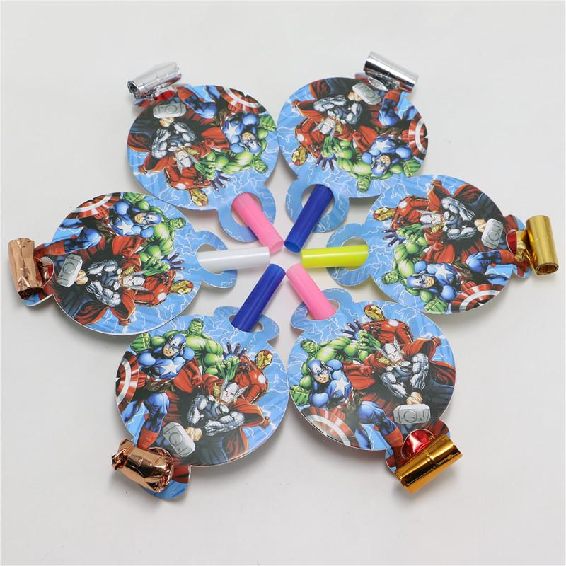 Wholesale Avenger Blowouts Noise Makers Kids Birthday
