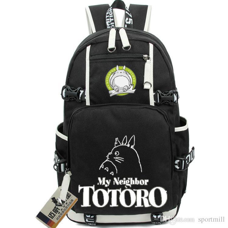 fffa3d13b548b Satın Al Totoro Sırt Çantası Güzel Kedi Okul Çantası Komşum Daypack  Karikatür Schoolbag Açık Sırt Çantası Spor Günü Paketi, $36.65 |  DHgate.Com'da
