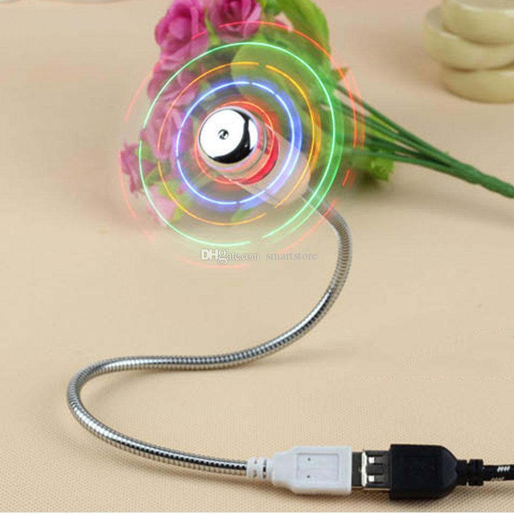 mini portatile flessibile piegabile del USB del computer del computer portatile del PC del PC del LED di luce libera che accende il trasporto 0001