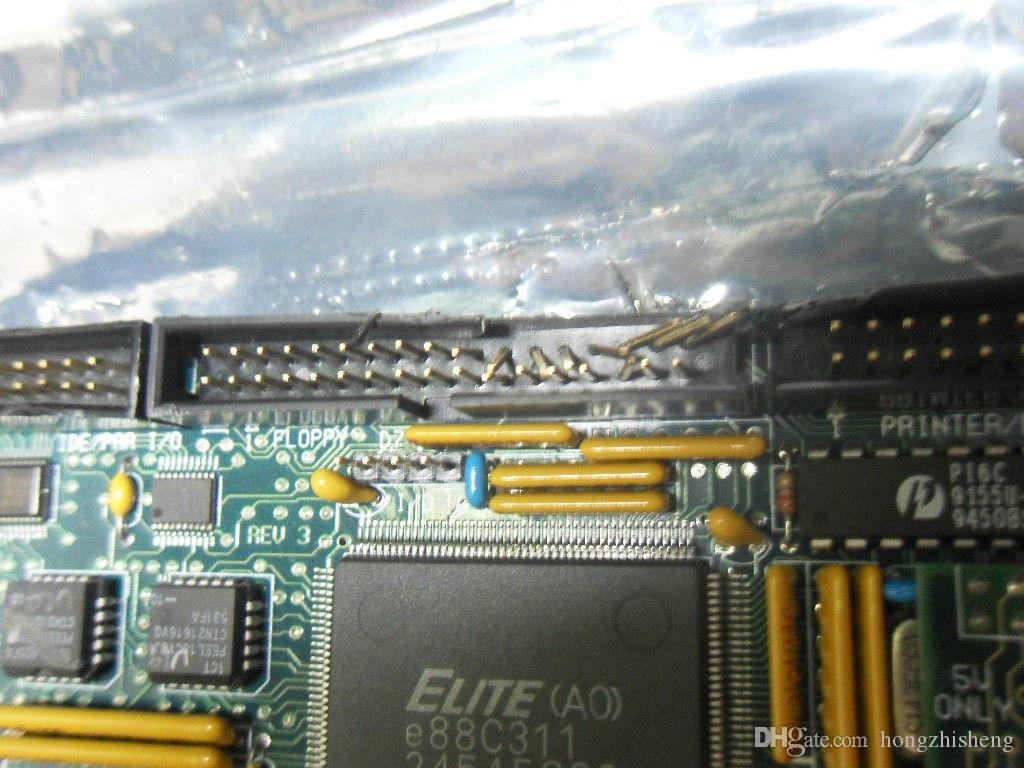 original Industrial motherboard 486 EMBEDTEC ISBS486 ISA-BOARD 100% tested working,used, in good condition