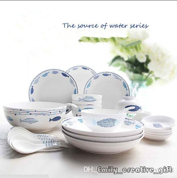 ... Rice Bowl/Plate/Dish Tableware Set Dinnerware Set Holiday Dinnerware Sets Holiday Dinnerware Sets Clearance From Emily_creative_gift $74.18| Dhgate.Com  sc 1 st  DHgate.com & 4 People Using China Creative Ceramic Lovely Cartoon Rice Bowl/Plate ...