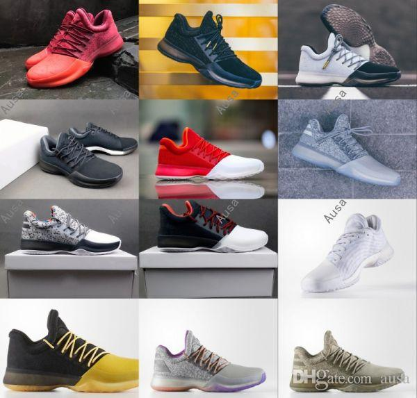 c5ee67db0aa6 2018 2017 Hot Harden Vol. 1 Bhm Black History Month Mens Basketball Shoes  Fashion James