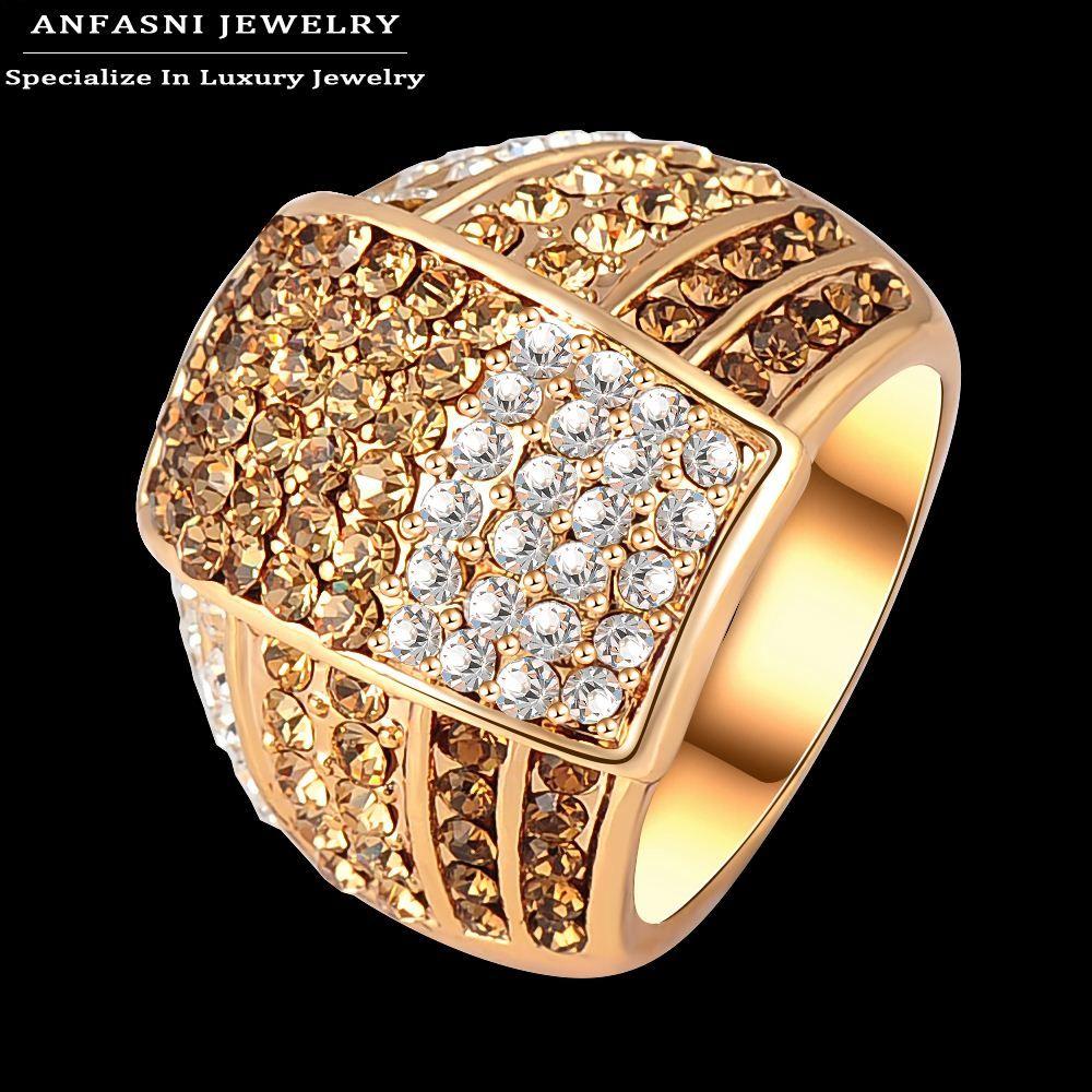 2018 Anfasni Bijoux Fashion Multi Color Genuine Austrian Crystal