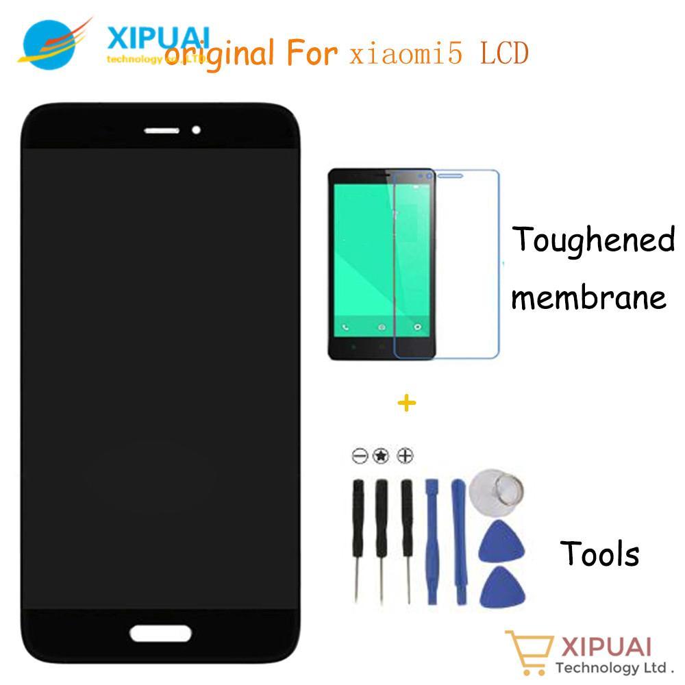 Meilleur Ecran Lcd Vente En Gros 100 Original Teste Pour Xiaomi Mi5 LCD Tactile Remplacement Mi 5 Telephone Portable 515 Pouces