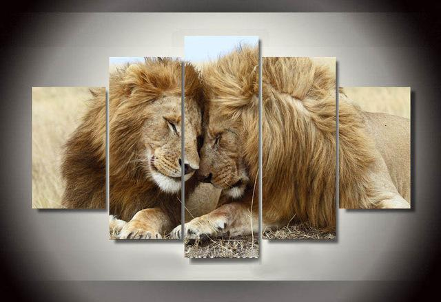 Merveilleux 2018 Wall Art Animals Lion Painting Modern Wall Art Living Room Decoration  Pictures Print Picture Canvas Painting From Samwu333, $23.92 | Dhgate.Com