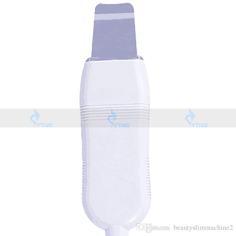 Galvanic Ultrasonic Facial Beauty Instrument Face Cleaning Scrubber Machine Skin Care Nutrition Inject Multifunctional Salon Equipment