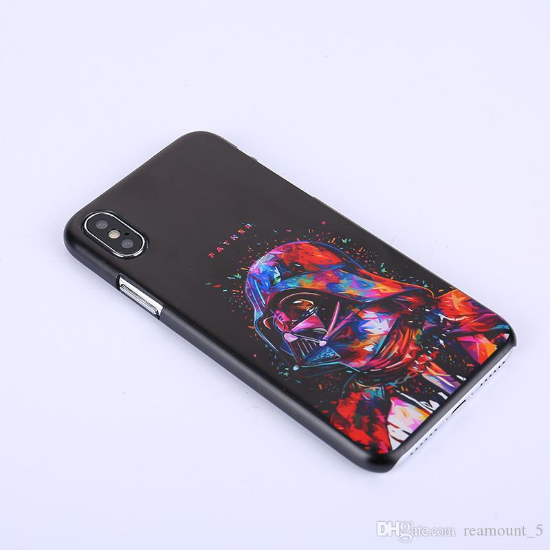 Personalized Cases Logo Photo Hard PC Marble Pattern Case for iPhone X Shell Phone Case Cover