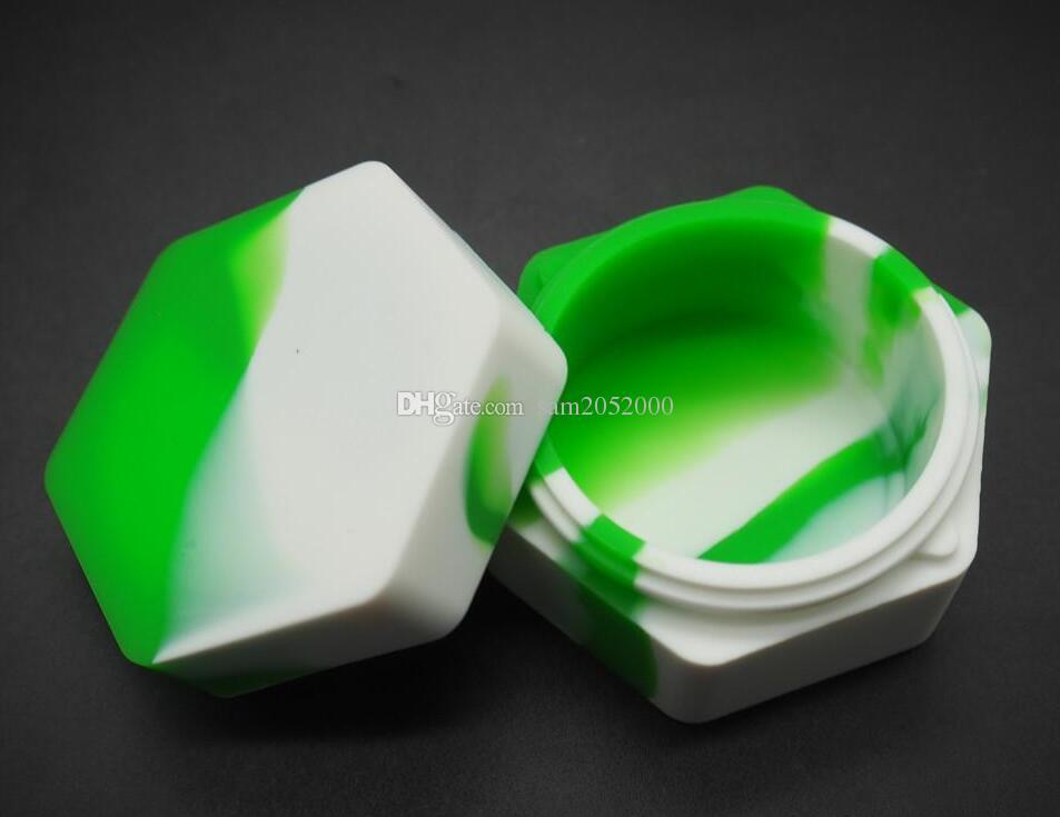 六角設計再利用可能なシリコーンワックスボックスの蝋燭の容器シリコーン容器シリコーンの身体座のためのワックス