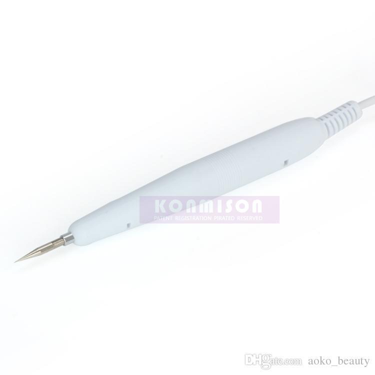 مصغرة آلة إزالة بقعة الحجم الكي لأسود رئيس مزيل الكي القلم صالون تجميل استخدام dhl شحن مجاني