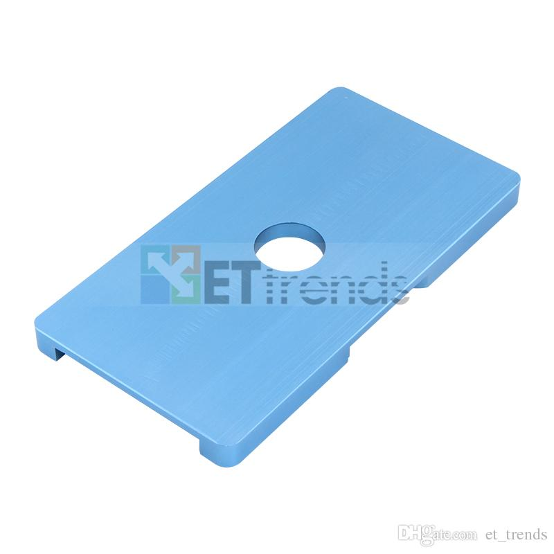 Cadre de haute qualité avec lentille en verre Moule pour iPhone 6G / 6S remplacement des pièces de réparation DHL Livraison gratuite AB0276