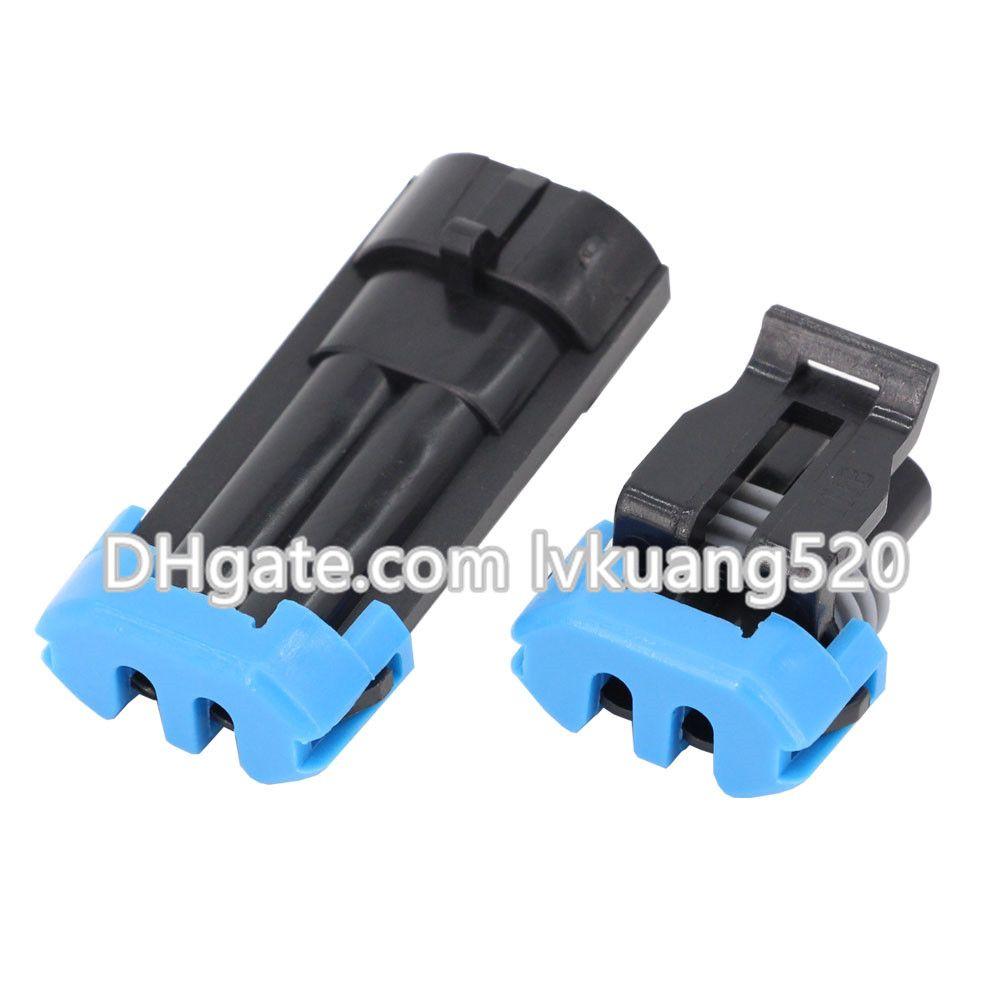 2 Pin Outdoor Temperature Sensor Plugs Automotive Connectors Waterproof Connectors DJ7024-1.5-11/21