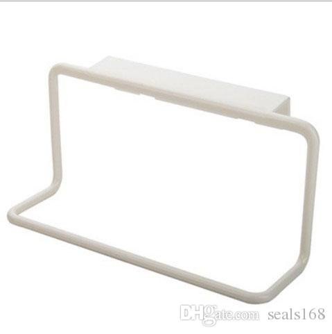 Kitchen Storage Holders Door Tea Towel Rack Bar Hanging Holder Rail Organizer Bathroom Kitchen Cabinet Cupboard Hanger Shelf HH-H06