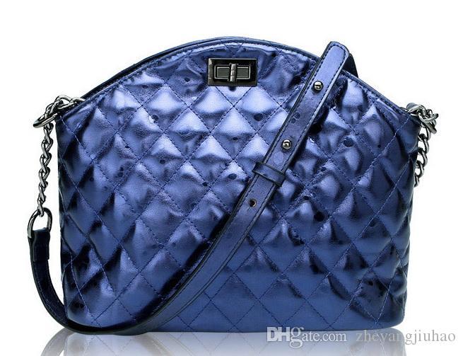 New chain multifuntion single shoulder messenger handbag lady fashion evening bag women popular purse black/navy blue/red/silver color no196