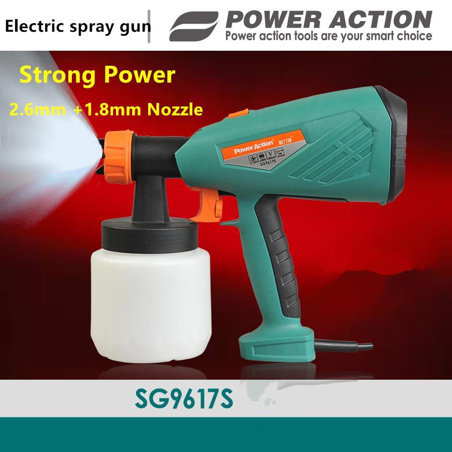 großhandel 650 watt elektrische spritzpistole spritzpistole 800 ml