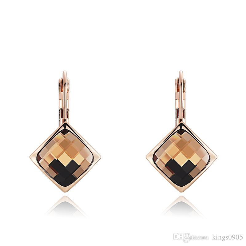 ROXI Brand Champagne Gold Earring For Women Earring Elegant Womens ...