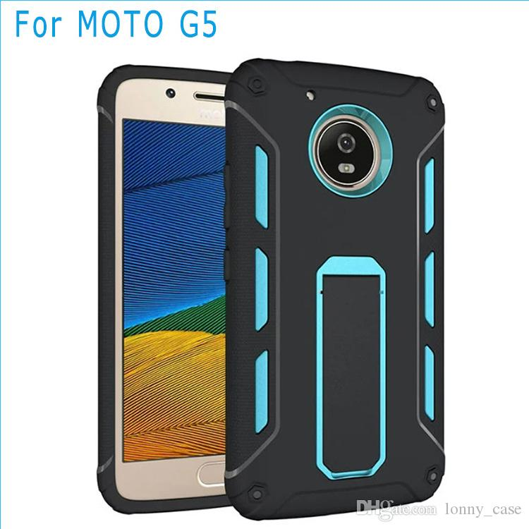 new products 7ea1f c5dc2 For Motorola moto E4 PLUS MOTO G5 PLUS G4 PLUS G4 PLAY Grand Prime Hybrid  Stent Armor 2 in 1 case