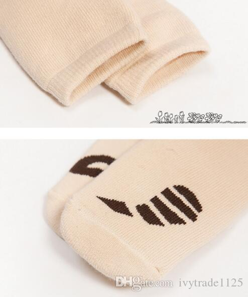 Baby Kids Socks New Arrivals Boy Girls Anti Skidding Sock Los calcetines de algodón para niños Tamaño 0-3T
