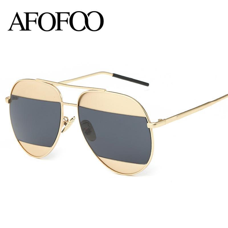 Compre Atacado Afofoo Moda Metal Frame Sunglasses Designer De Marca De Luxo  Mulheres Vintage Óculos De Sol Das Senhoras Dos Homens Clássicos Eyewear  Uv400 ... dcc24d41e9