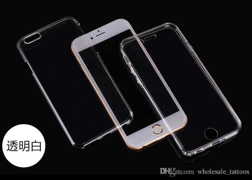 إلى Samsung J3 Prime Emerge LG K8 2017 LV3 Aristo Phoenix 3 K4 2017 Fortune Risio 2 V3 360 Degrees حماية كامل الجسم شفافة TPU TPU