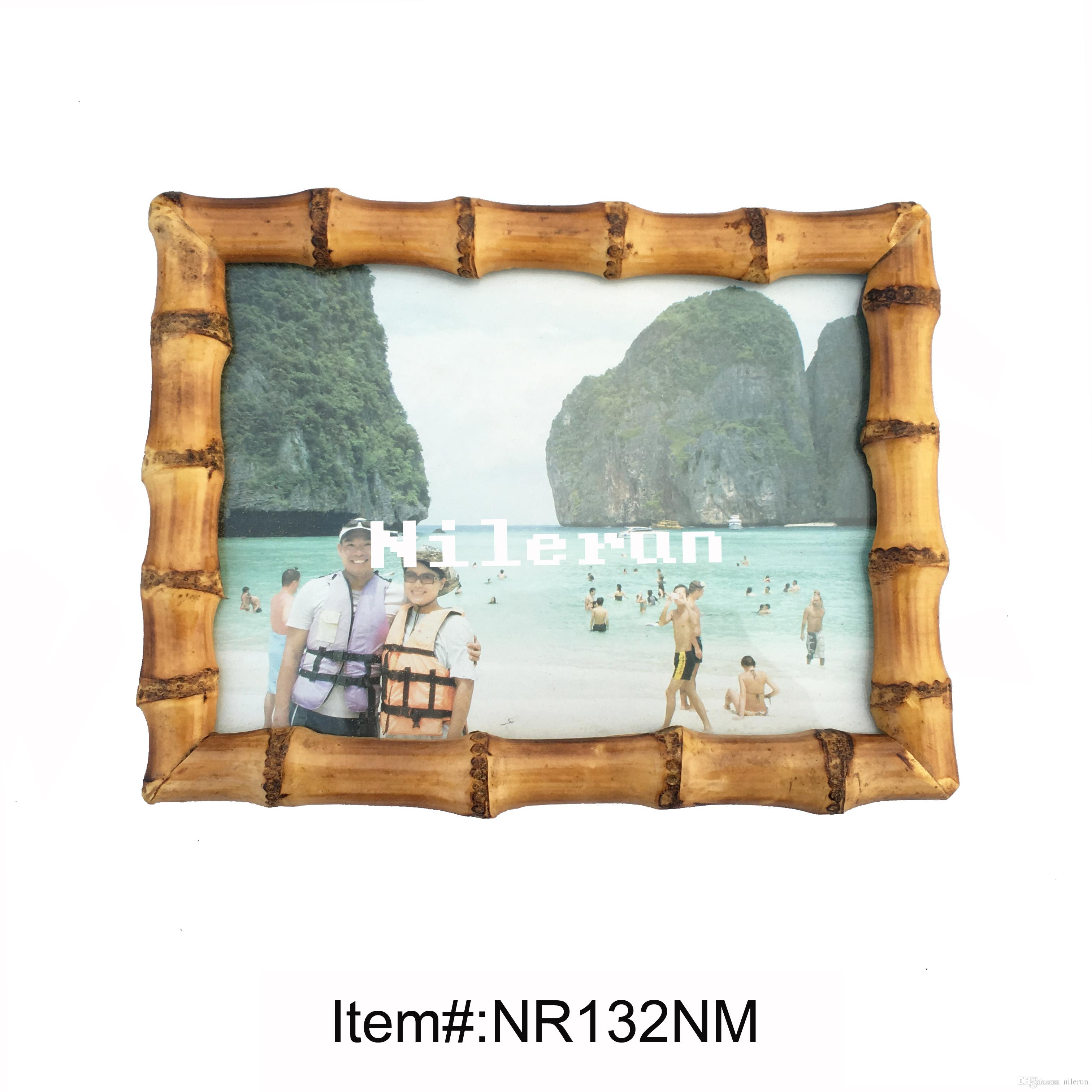 Bamboo Root Picture Frame for 5x7 Inch Bamboo Photo Frame Bamboo ...