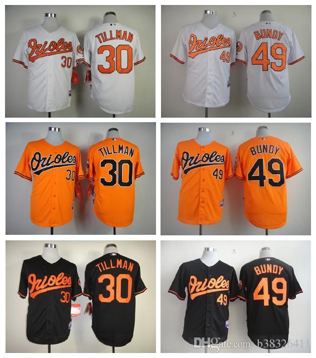 6439f9c1293 ... cool base home jersey ad9a5 d4ed6 low price 2017 baltimore orioles 30  chris tillman jersey grey orange white 49 dylan bundy baseball coupon code  for ...