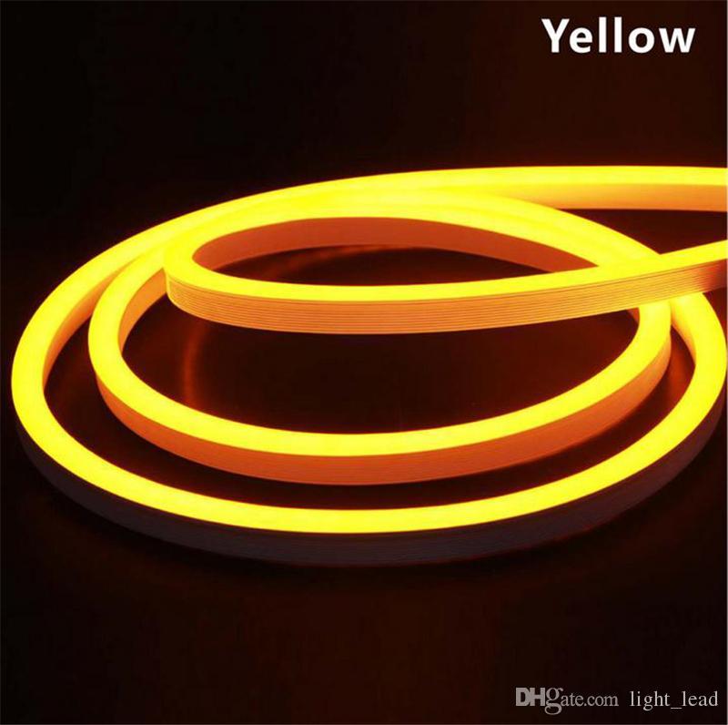 LED flexibles Neonlicht 12V 2835 SMD 120LED ultra helles Neon für das Dekorations-Zeichen fertigte DIY geführtes Werbungs-Neonflexzeichen besonders an