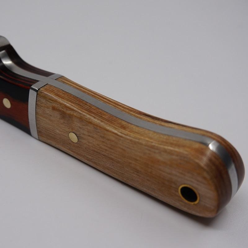 Coltello da caccia a lama fissa Manico in legno Coltelli da campeggio all'aperto piccoli 5CR13MOV Coltello da sopravvivenza in campeggio EDC strumento di autodifesa multitool