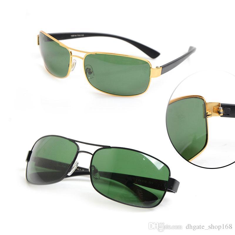 52d33a38219 High Quality Brand Sunglasses Black Frame Green Lens Glasses Classic Mens  Womens Sunglasses 3379 Sun Glasses With Orginal Package Box Designer Glasses  ...