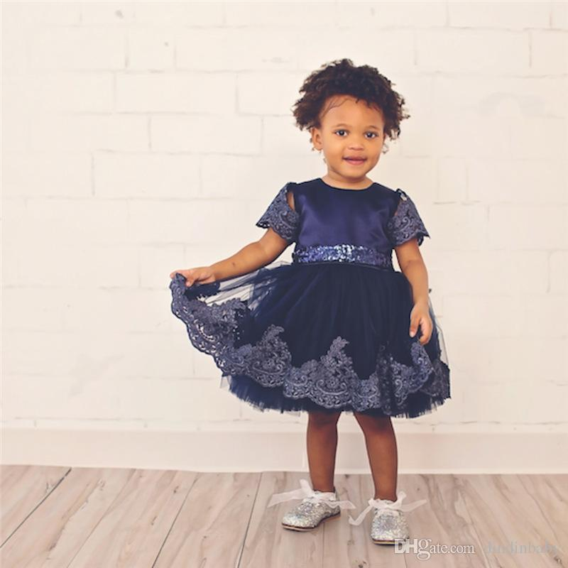 5100abaab7bc1 2019 Pretty Baby Girls Dresses Summer Children Clothing Sexy Child Princess  Dress Pleated Bow Flower Lace Skirt Kids Clothes From Dindinbaby, ...