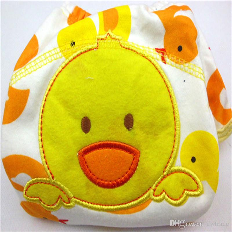 3 layers cartoon baby training pants waterproof diaper pant potty toddler panties newborn underwear Reusable training pants