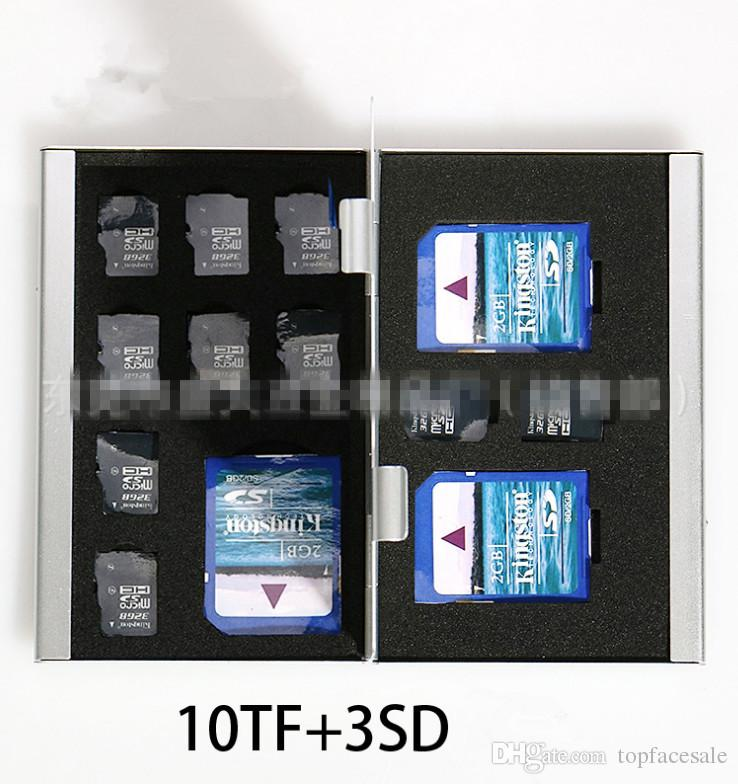Thick SD CF TF Card Combination Box Wholesale High Quality Camera Memory Card Box Digital Storage Box Many Colors