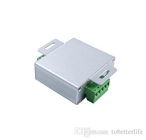 Led RGB Amplifier Controller Input dc 5v 12V 24V 24A Signal Repeater 120w 288w 576W for 3528 /5050 RGB Led Strip Aluminum Box