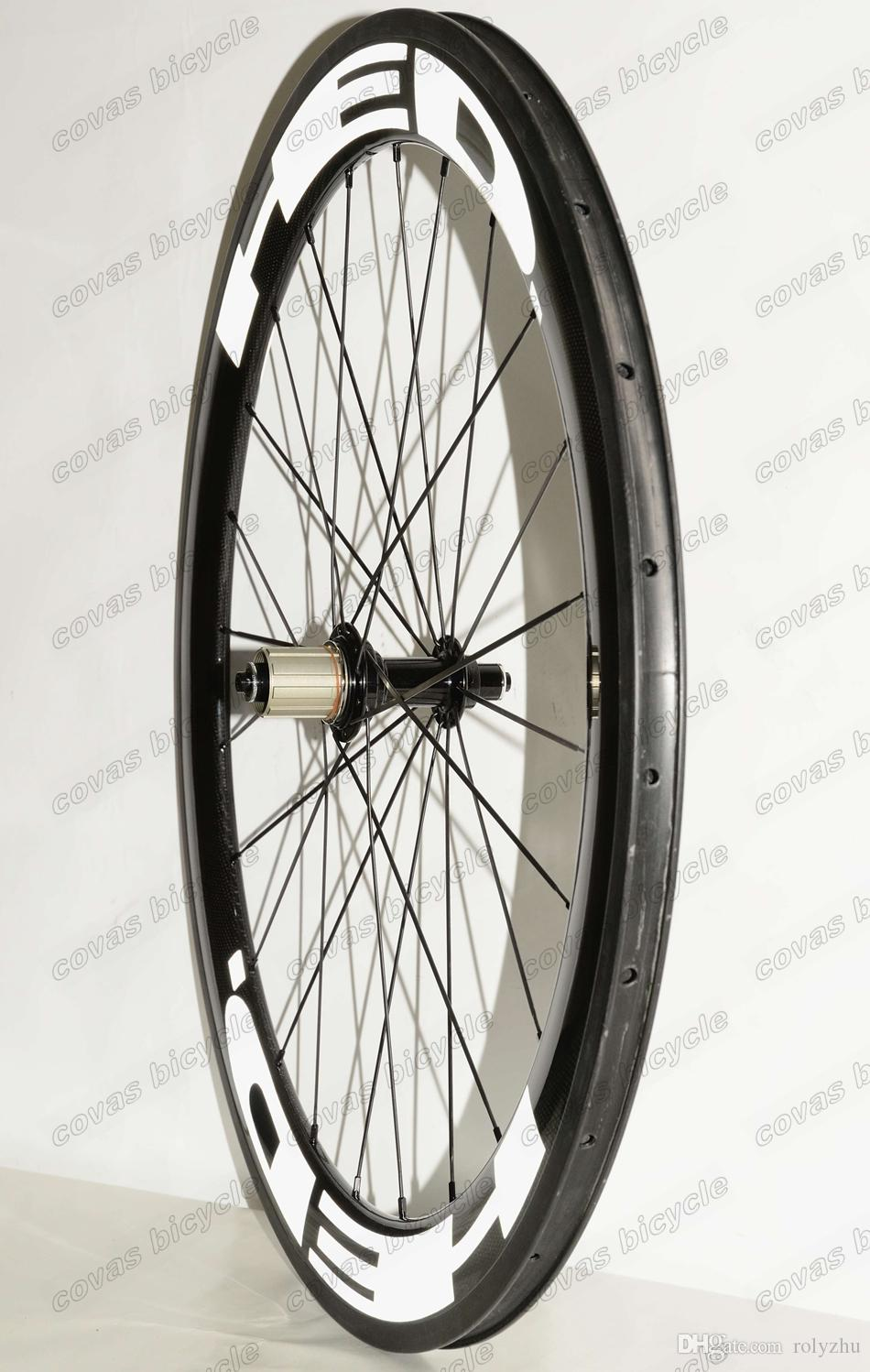 700C Clincher/Tubular road bike carbon wheels 25mm Width 60mm depth bicycle carbon Wheelset china super light wheels
