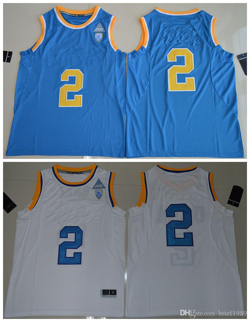 2017 2017 ucla bruins lonzo ball jersey 2 men college high quality jersey embroidery jerseys blue wh