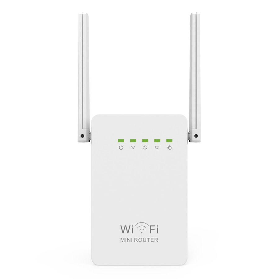 Yeni 300 Mbps WIFI Yönlendiriciler 300 M Çift Antenler Kablosuz-N wi-fi 802.11N / B / G Ağ Roteador AB İNGILTERE ABD WR02E