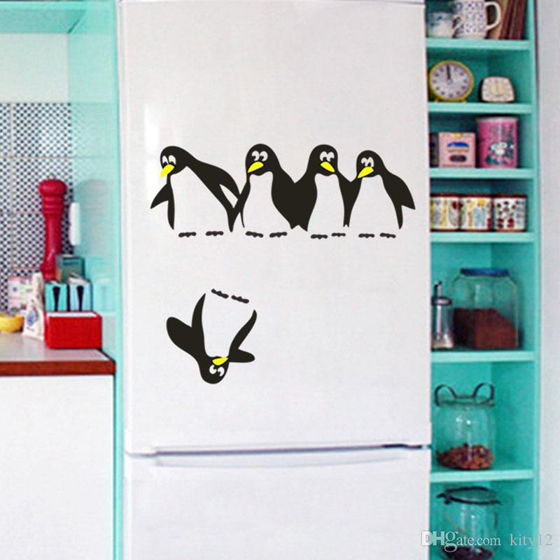 penguins wall decal kids sticker vinyl sticker wall decal kids decor