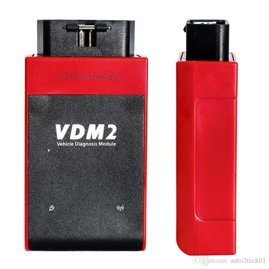 Consegna gratuita! Nuovo scanner automobili UCANDAS VDM2 VDM II WIFI V5.2 Supporto multi-lingua e sistema Android Strumento di diagnostica UCANDAS VDM2
