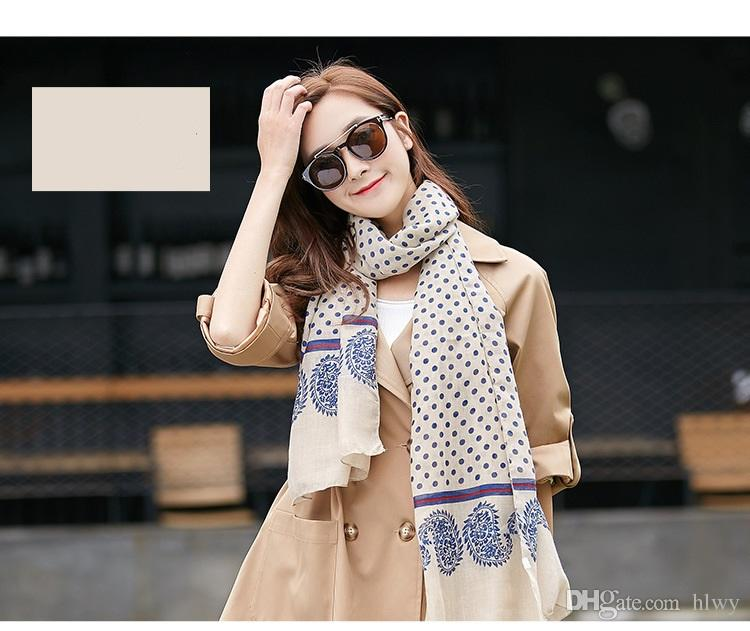 Uacy 2016 New South Korean foreign trade cotton explosion dot Scarf silk Scarf shawl female thin towel