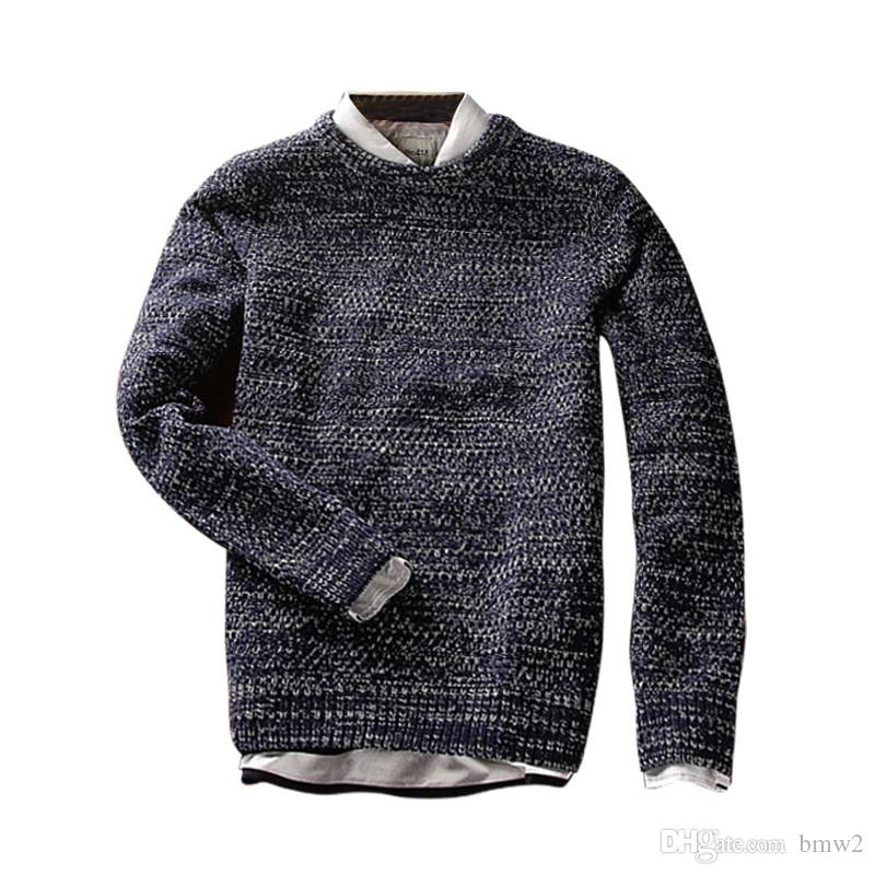 New Spring Solid Casual Men Sweater Male Brands Sweater Winter Men\u0027s O,Neck  Cotton Sweater Jumpers Pullover Online with $26.57/Piece on Bmw2\u0027s Store