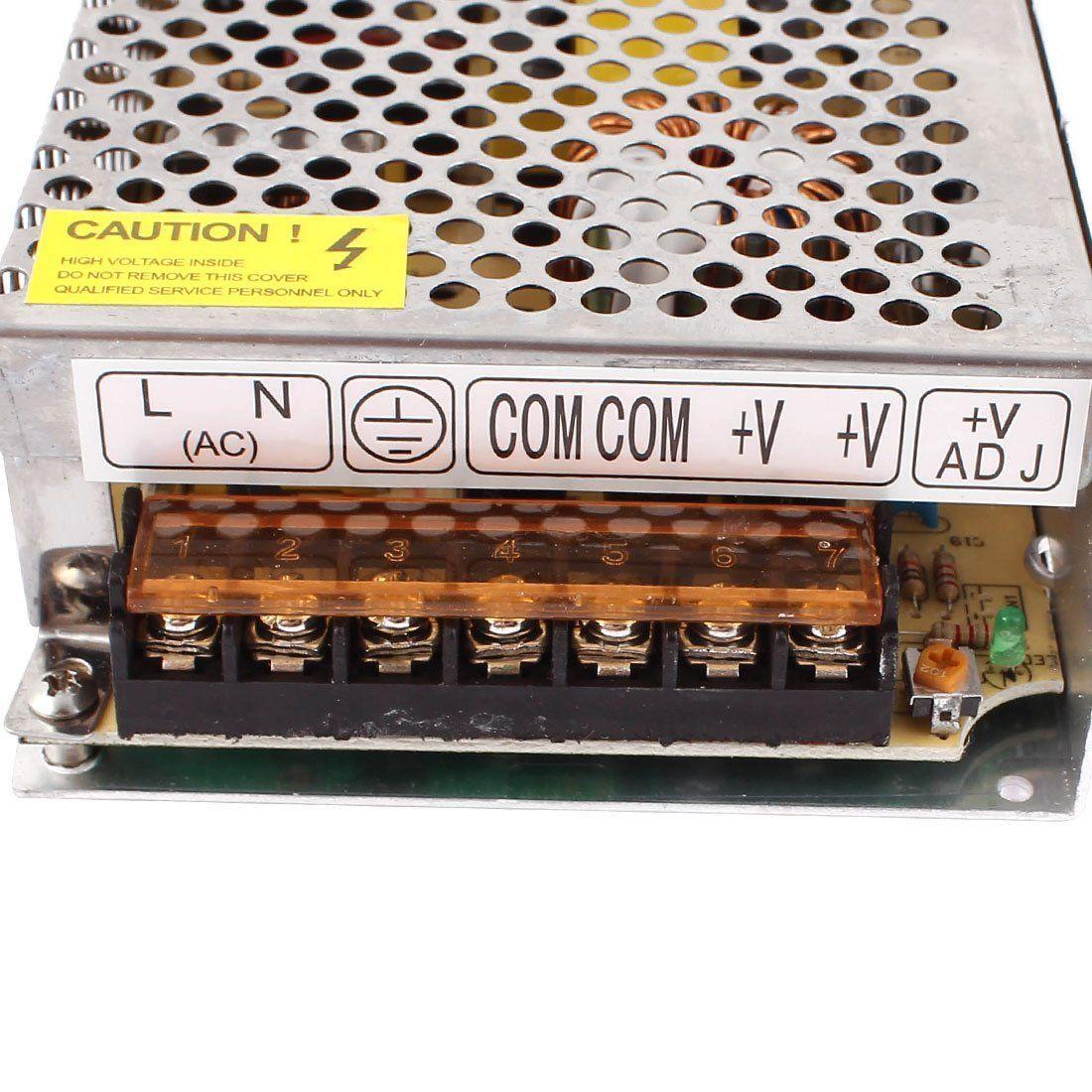 12V 2A 24W 5A 60W 10A 120W 15A 180W 20A 240W 25A 300W 30A 360W 40A 480W 50A 600W Переключатель питания Светодиодный трансформатор для светодиодной ленты