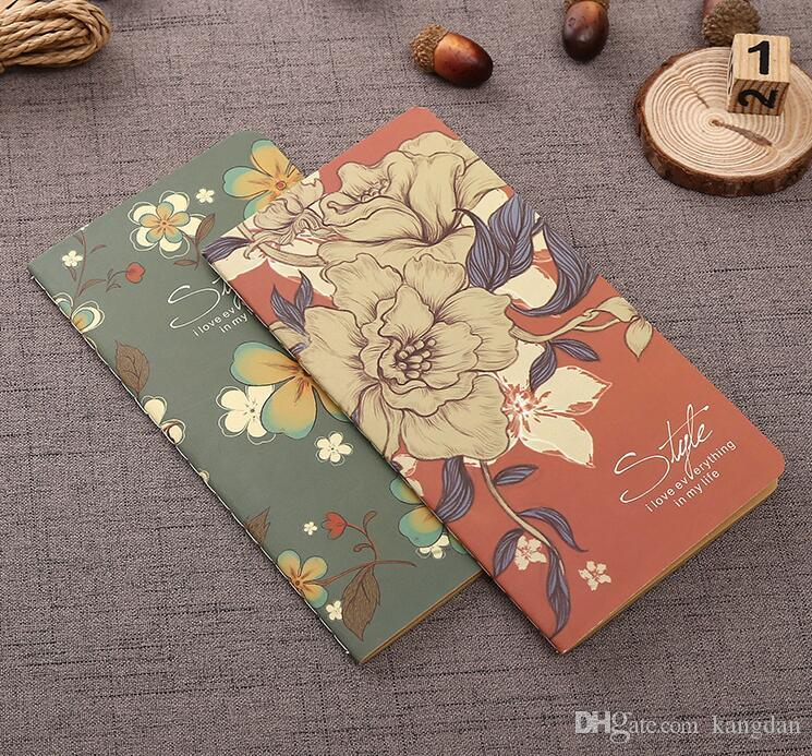 Halloween Notebook Note Book Notes & Notepads Fashion as a Christmas present gift kraft paper notebooks colorful journal notebook dairy