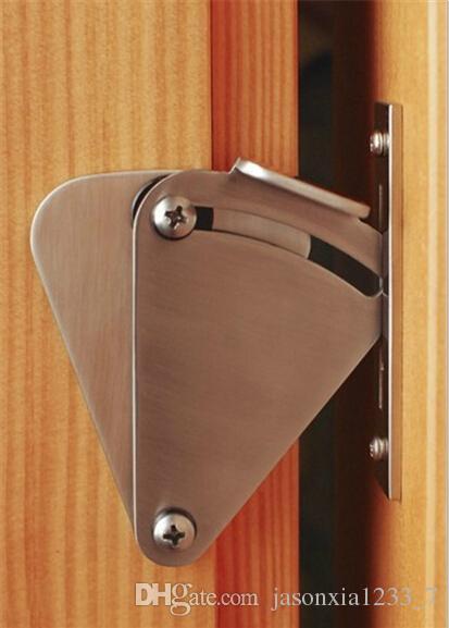 2018 Stainless Steel Sliding Barn Door Lock For 35 40mm Door Panel