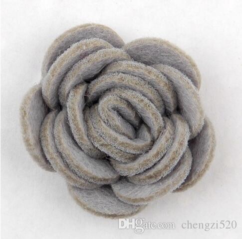 es de moda hechos a mano fieltro rosa flor Diy para accesorios para el cabello diadema adornos YH465