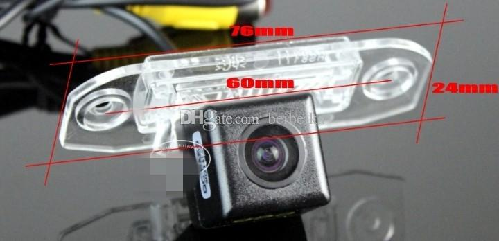 License Plate Light OEM / HD CCD Night Vision /Car RearView Camera / Backup Parking Camera For Volvo S80 S80L XC90