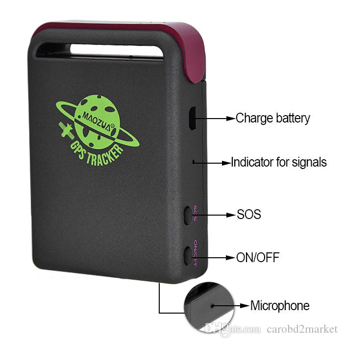 2018 maozua gps tracker tk102 with battery car charger. Black Bedroom Furniture Sets. Home Design Ideas