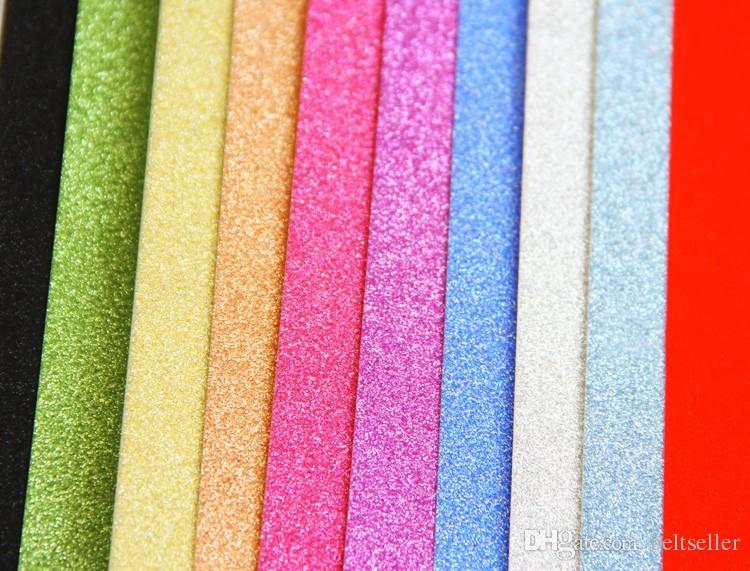 Pareti Glitterate Fai Da Te : Acquista nuovo eco friendly autoadesiva a glitter bling carta eva