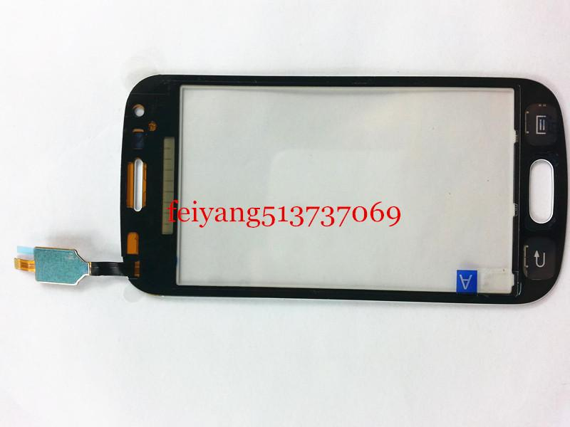 ORIGINAL for Samsung Trend Plus s7580 s7582 Black white color Touch Screen Digitizer with duos by DHL EMS