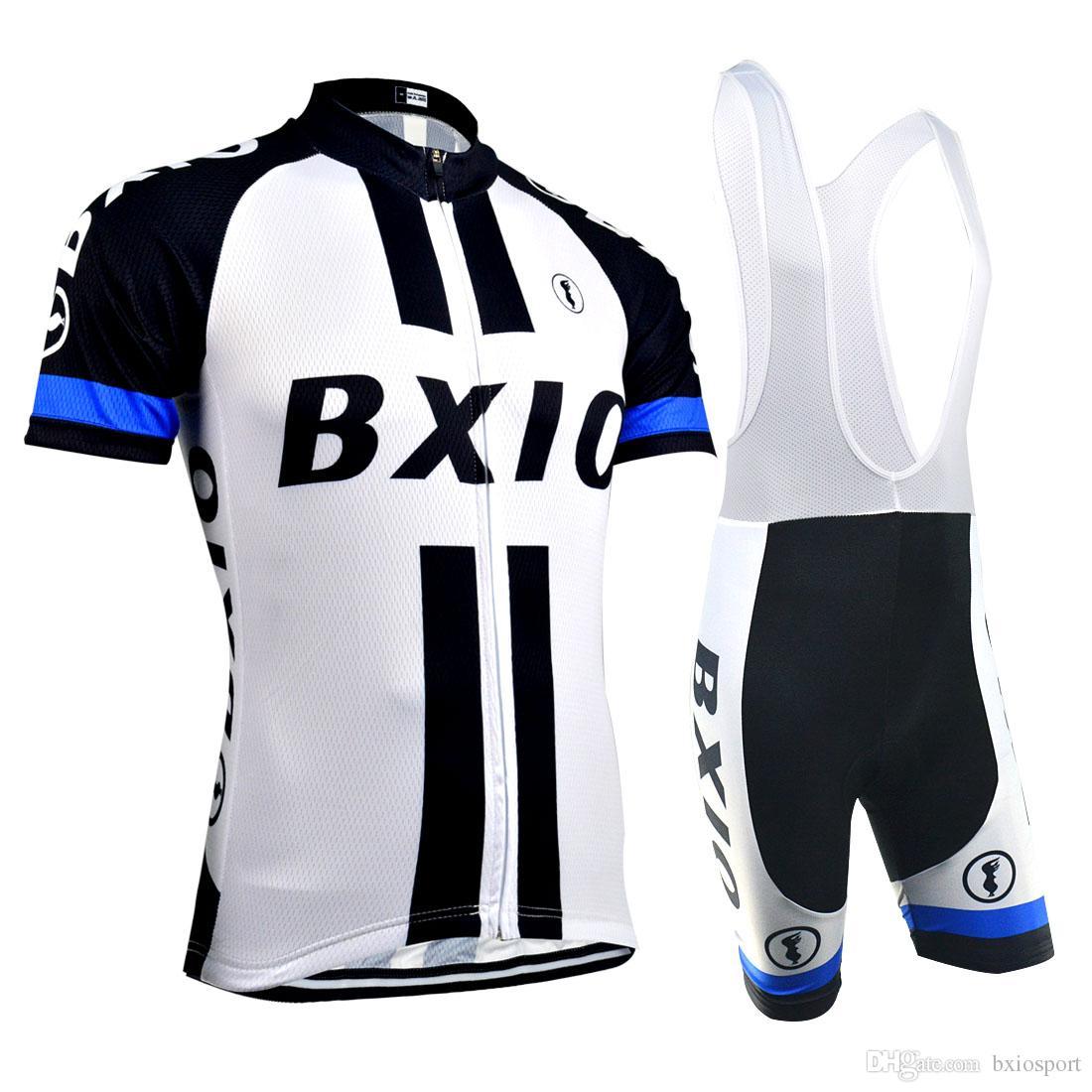 5180f1310 BXIO Brand Men Cycling Clothing Short Sleeve Full Zipper Cycling Jerseys  Summer Short Sleeve Set Cool Bicycle Clothes Quality BX 08 Bike T Shirt  Cycle ...